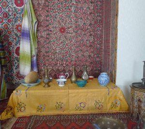интерьер жилища, Узбекистан