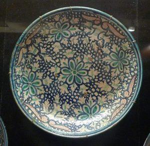Блюдо тавок. Узбекистан или Северный Таджикистан, конец XIX - нач. XX вв.