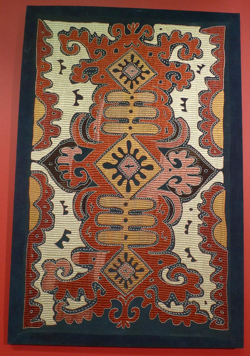 кайтагская вышивка