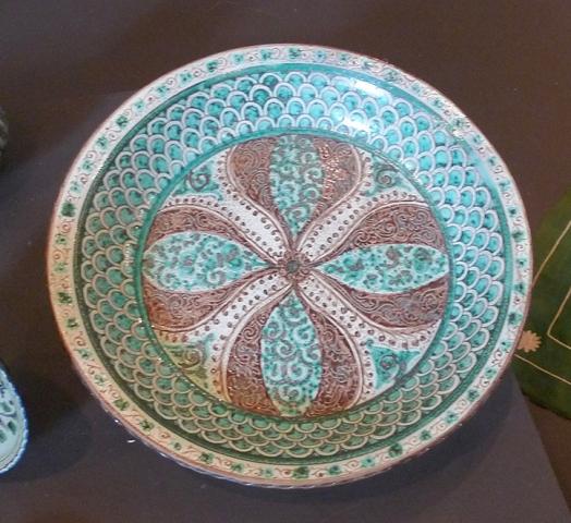 Керамическое блюдо (Узбекистан)