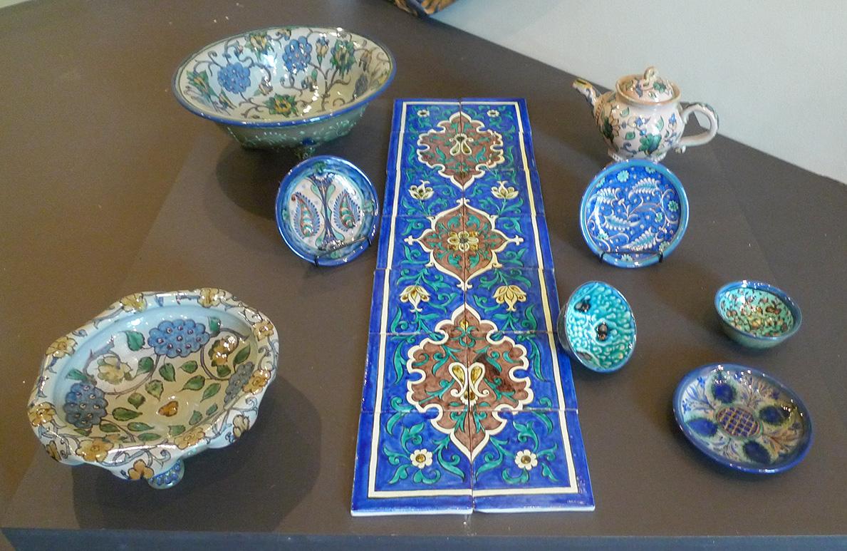 Керамические изделия (Узбекистан)