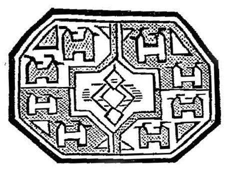 Кизил-аякский узор