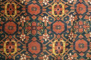 Ковер беширский, Западный Туркестан, Бешир, 1900-е гг.; шерсть, ворсовое ткачество