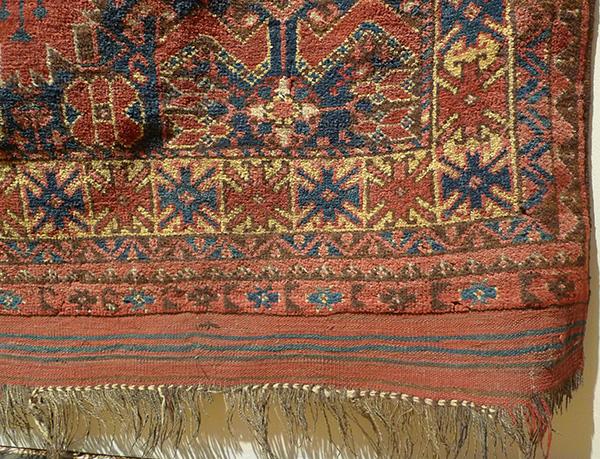 Ковер беширский (фрагмент бордюра), Западный Туркестан