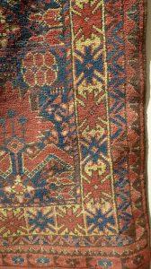Ковер беширский, Западный Туркестан, XIX в.; шерсть, ворсовое ткачество