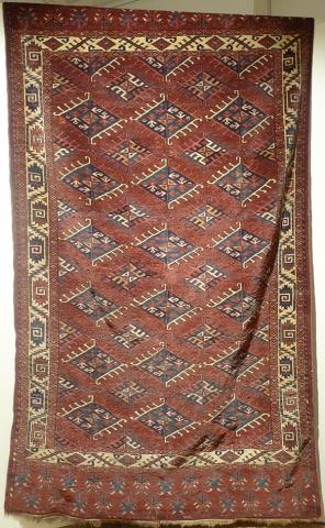 Ковер йомудский, Западный Туркестан