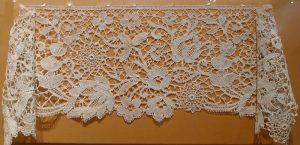 Кружево мерное. Англия, XIX в. Лен, плетение на коклюшках.
