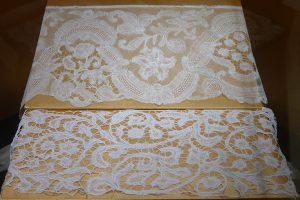Кружево мерное. Фландрия, XVIII в. Лен, плетение на коклюшках.
