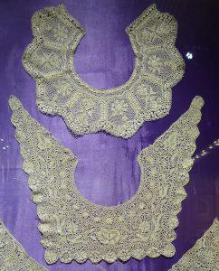 Воротники. Мальта, XIX в. Шелк; плетение на коклюшках.