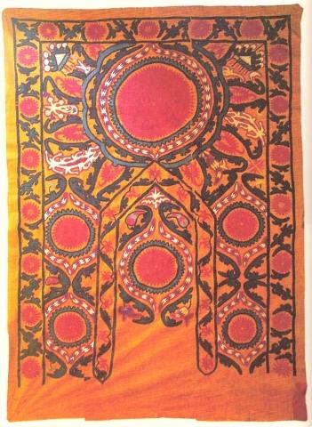 Сузани. Узбекистан, Джизак, середина XIX в.