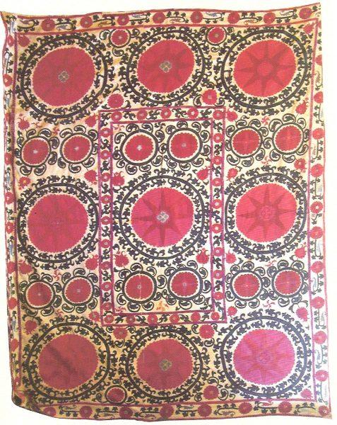 Сузани. Узбекистан, Самарканд, 70-80-е гг. XIX в.