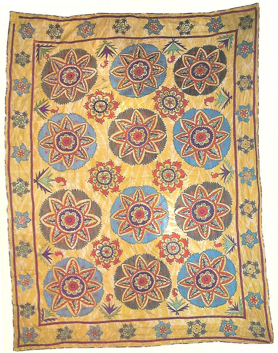 Сузани. Узбекистан, Самарканд, 70-90-е гг. XIX в.