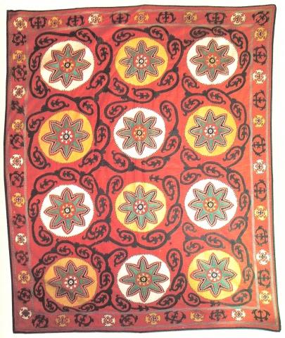 Сузани. Узбекистан, Самаркандская обл., начало XX в.