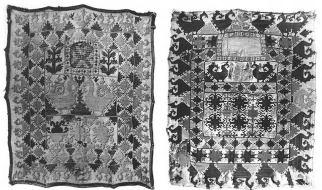 Лицевые занавески (таджикская вышивка)