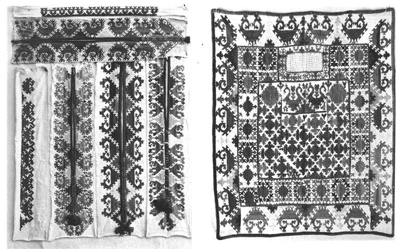таджикская вышивка