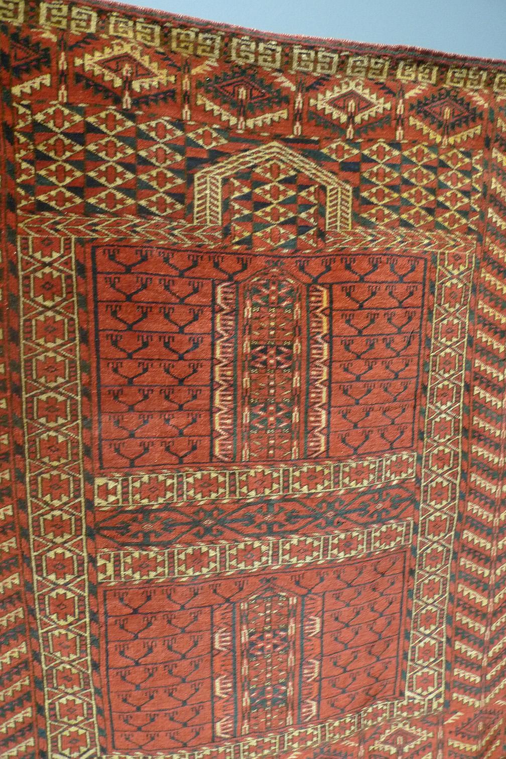 Завеса входа в юрту энси