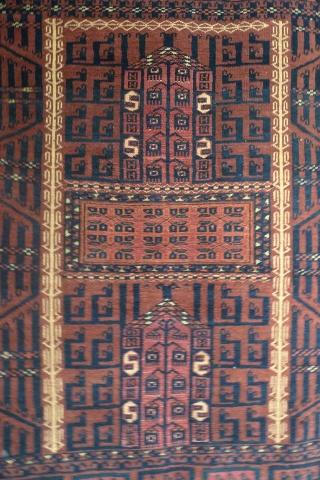 Завеса входа в юрту энси. Западный Туркестан