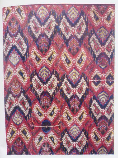 Покрывало. 1-ая пол. XIX в. Узбекистан, Бухара