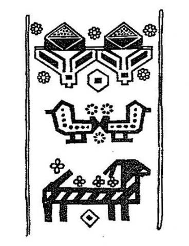 Иомудский узор