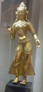 Деви. Непал, XVII в. Бронза, литье, позолота