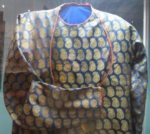 Кафтан. Индия, XIX в. Парча, ситец, шитье