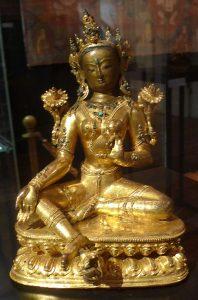 Зеленая Тара. Непал, XVI - XVII вв.