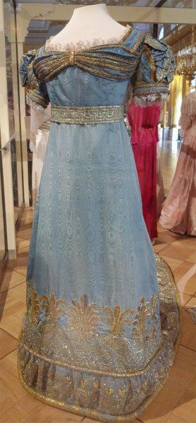 Парадное платье императрицы Марии Федоровны