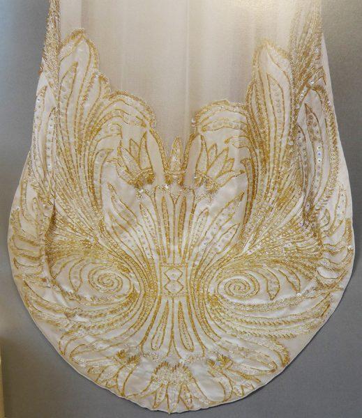 Бальное платье (фрагмет) В.В. Карахан