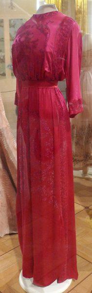 Послеобеденное платье В.В. Карахан