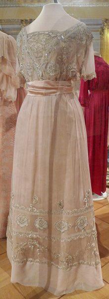 Бальное платье великой княжны