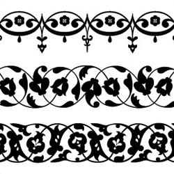 Кубачинский растительный орнамент