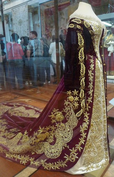 Парадное платье императрицы Марии Фёдоровны