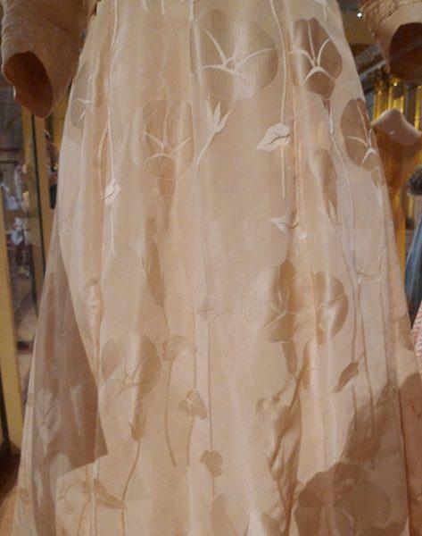 Вечернее платье (фрагмент) эпохи модерн