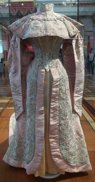 Парадное платье княгини З.Н. Юсуповой