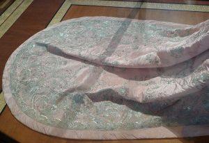 Парадное платье (фрагмент) княгини З.Н. Юсуповой