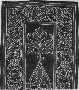 Кавказский войлочный ковер