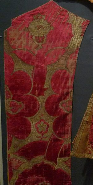 Ткань бархатная. Италия, XV в.