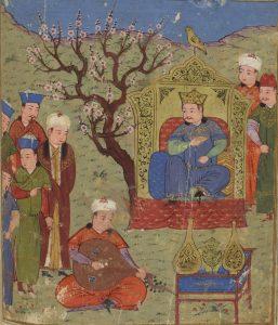 Миниатюра из Хроники Рашид-эддина