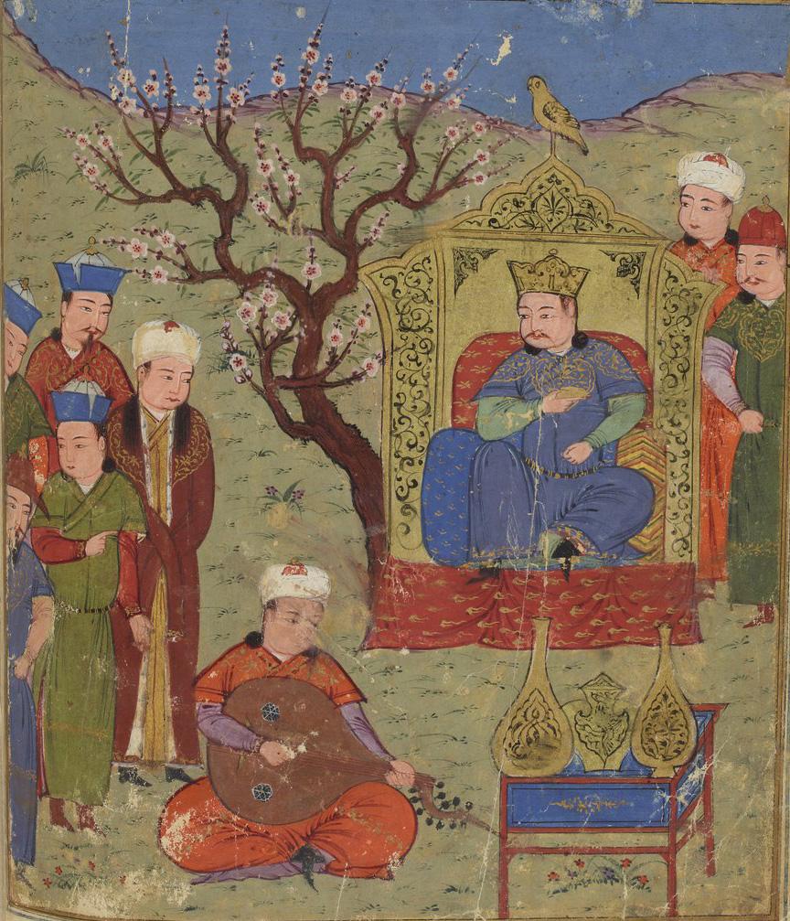 Миниатюры из персидского манускрипта «История монголов» (XV в.)