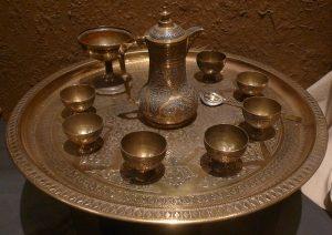 Кофейный набор. Латунь. Иран