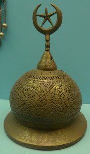 Крышка с полумесяцем. Иран, XIX в.