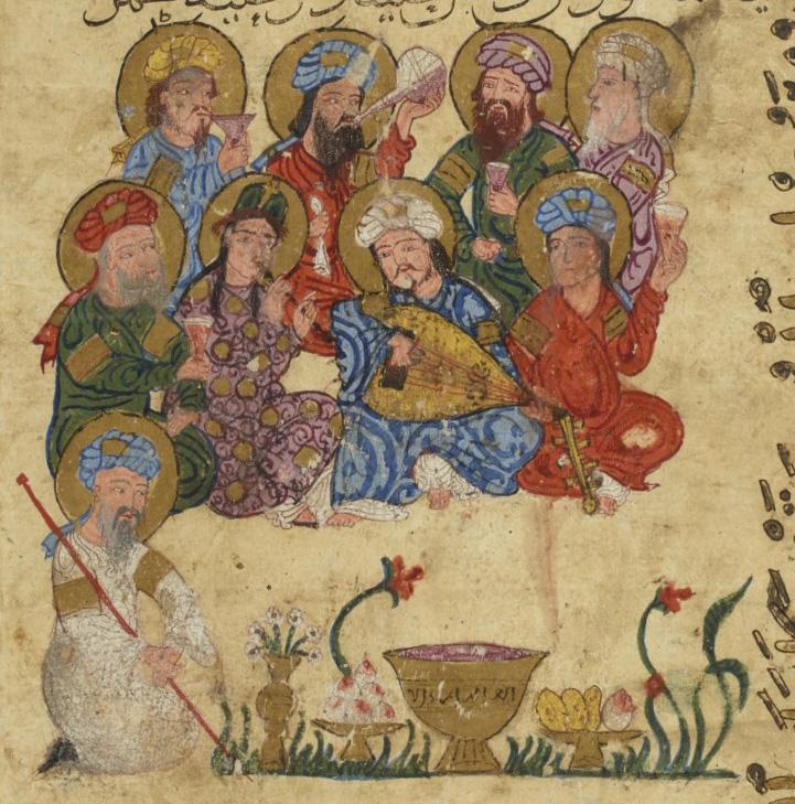 Миниатюры из сирийского манускрипта «Макамы» Харири (XIII в.)