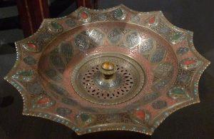 """Тазик для умывания """"дастшу"""". Средняя Азия, Фергана. 1878 г."""