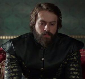 """Кадр из сериала """"Великолепный век"""". Султан Мурад IV"""