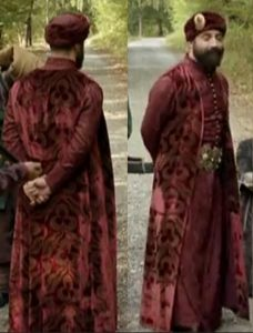 """Кадр из сериала """"Великолепный век"""". Султан Сулейман"""