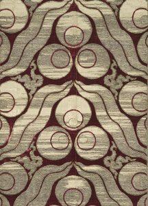 Фрагмент турецкой (османской) ткани с мотивом чинтемани