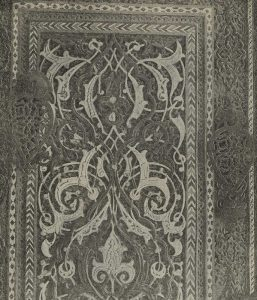 Дверь из мечети Шах-и-Зинда в Самарканде. 1398 г. Деталь