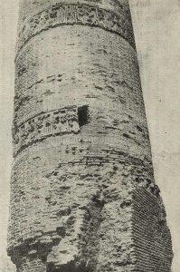 Минарет в Термезе. 1032 г.