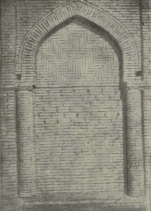 Султан-Саадат в Термезе. Мазар № 1. XI-XII вв. Ниша внутри мавзолея
