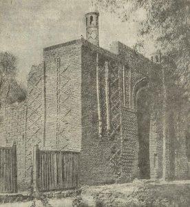 Мавзолей Кара-хана в г. Джамбуле (б. Аулиэ-Ата). XI-XII вв.